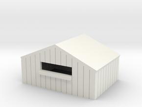 N sutler facade model in White Natural Versatile Plastic