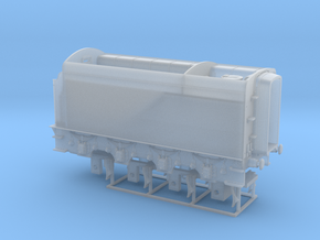 A0 - H0 Scale - A3 Corridor - TENDER in Smooth Fine Detail Plastic