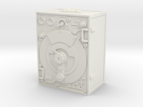 1:18 German 5 W.S. Radio Transmitter in White Natural Versatile Plastic