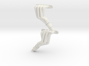 Magnaflow-style headers for Axial SMT-10 (Pair) in White Natural Versatile Plastic