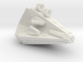 3125 Scale Tholian Heavy War Destroyer (PF Tender) in White Natural Versatile Plastic