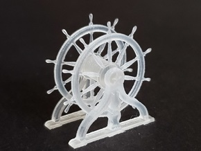 1/96 Ship's Wheel for USS Constitution in Smoothest Fine Detail Plastic