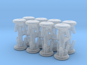 Stool (x16) 1/220 in Smooth Fine Detail Plastic