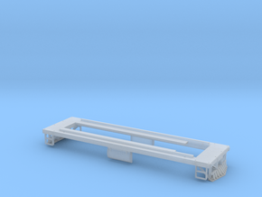 HOn30 29 Ton GE Boxcab Frame in Smooth Fine Detail Plastic