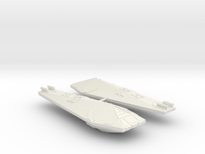 3125 Scale Hydran Knight Destroyers (2) CVN in White Natural Versatile Plastic