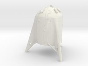 StarHopper in 1:250 in White Natural Versatile Plastic