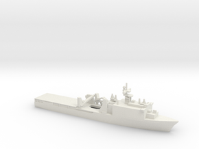 Whidbey Island-class LSD, 1/2400 in White Natural Versatile Plastic