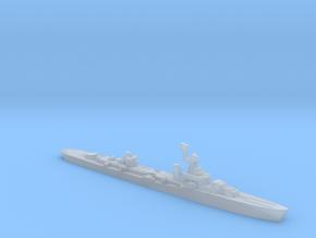 French cruiser Émile Bertin c1943 1:1800 WW2 in Smooth Fine Detail Plastic