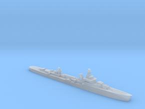 French cruiser Émile Bertin c1942 1:6000 WW2 in Smooth Fine Detail Plastic
