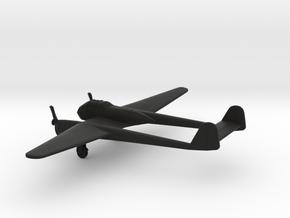 Focke-Wulf Fw 189 A-1 Uhu in Black Natural Versatile Plastic: 1:200