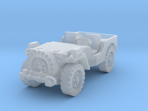 Airborne Jeep (recon) 1/200 in Smooth Fine Detail Plastic
