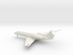 Gulfstream G-IV (G400) in White Natural Versatile Plastic: 1:100