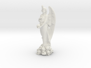 ANGEL Statue in White Natural Versatile Plastic