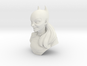 batwoman bust  in White Natural Versatile Plastic