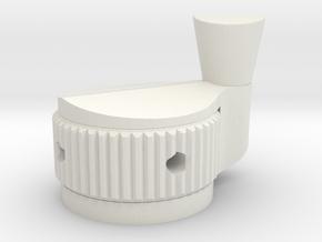 Ghostbusters Spirit 80%  Crank Knob in White Natural Versatile Plastic