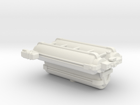 Omni Scale General Jumbo Armed Freighter SRZ in White Natural Versatile Plastic