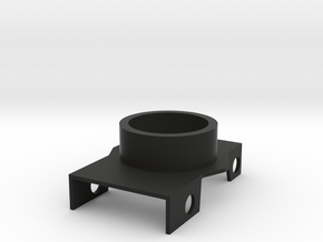 M17-Barrel Nut Adapter in Black Natural Versatile Plastic