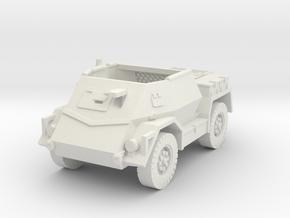 Pattern Wheeled Carrier Mk2 1/87 in White Natural Versatile Plastic
