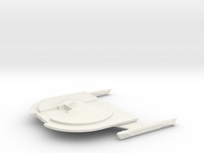 USS Brenton in White Natural Versatile Plastic