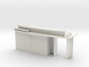 1:32 class 25/3 control desk in White Natural Versatile Plastic