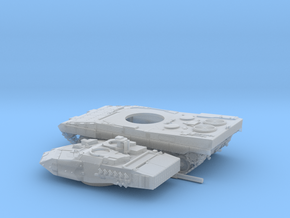Leopard-2E-72-3-piezas in Smooth Fine Detail Plastic