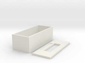 Toilet trays in White Natural Versatile Plastic