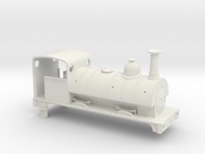 Furness Railway Sharp Stewart 0-4-0st in White Natural Versatile Plastic