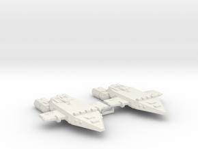 3125 Scale Orion Light Cruisers (2) CVN in White Natural Versatile Plastic