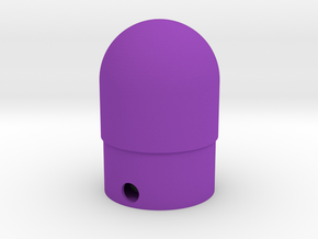 Classic estes-style nose cone BNC-30C replacement in Purple Strong & Flexible Polished