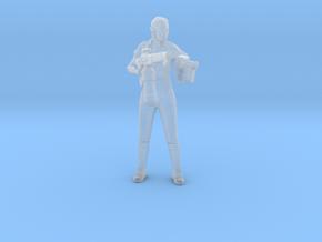 Alien Isolation Amanda Ripley miniature games rpg in Smooth Fine Detail Plastic