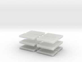 L-01 Catch Pits (Pack of 12) in Smooth Fine Detail Plastic