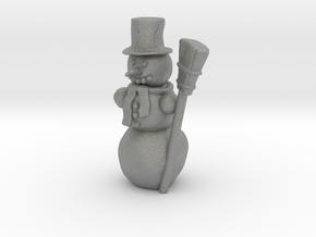 S Scale Snowman in Gray PA12
