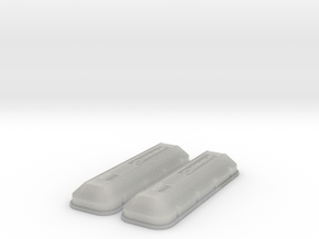1/12 BBC 502 Logo Valve Covers in Frosted Ultra Detail