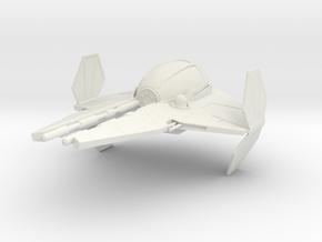 1/72 Eta-2 Wing Open in Versatile Plastic in White Natural Versatile Plastic