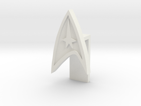 Laptop Video Lense cover (Star trek) in White Natural Versatile Plastic