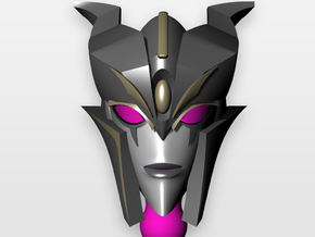 TFP RID Arcee Jorogumo head in Frosted Ultra Detail