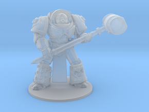 Honk Marine Chapter Master space marine miniature  in Smooth Fine Detail Plastic