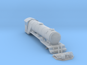 A0 - H0 Scale - A3 Flying Scotsman - With USA Bits in Smooth Fine Detail Plastic