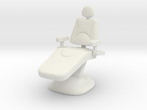 Dentist Chair 1/35 in White Natural Versatile Plastic
