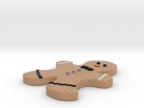 Gingerbread man in Natural Full Color Sandstone