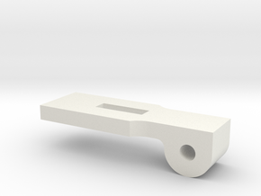 Reverse Gear Lever - Lock in White Natural Versatile Plastic
