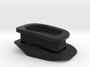2017 Tacoma TRD Sport Front Natika Camera Mount in Black Natural Versatile Plastic