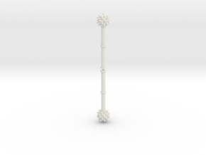5mm grip spiked mace x2 in White Natural Versatile Plastic