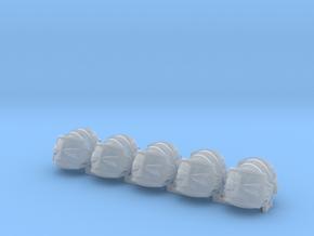 Templar vet cross shoulder pad x10 in Smooth Fine Detail Plastic