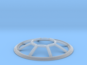 TIE REBELL 1/110 WINDOW in Smooth Fine Detail Plastic