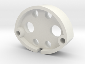Jason S: Emitter Adaptor in White Natural Versatile Plastic