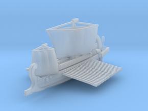 Roman warship liburna / liburnian in Smooth Fine Detail Plastic