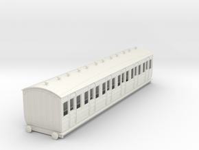 o-87-met-ashbury-bogie-first-class-coach in White Natural Versatile Plastic