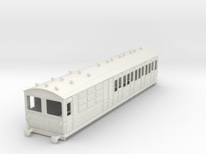 o-32-met-ashbury-bogie-brake-3rd-motor-coach in White Natural Versatile Plastic