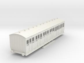 o-32-met-orig-ashbury-bogie-first-class-coach in White Natural Versatile Plastic